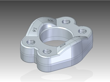 | Uncut split flanges with metric threaded fixing holes
