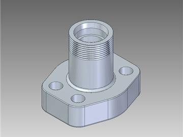 | Flange filettate metriche con attacco DIN 3901-3902