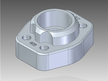 | Metric pipe weld in counter-flanges