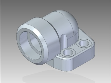 | Metric pipe weld in 90° flanges