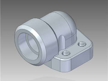 | Weld in 90° counter-flanges
