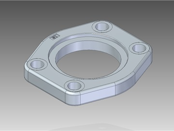 | Weld in flat flanges