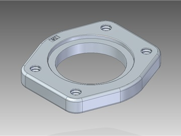 | Weld in flat counter-flanges