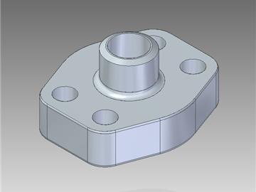 | Flange a saldare di testa tubo metrico foro cilindrico